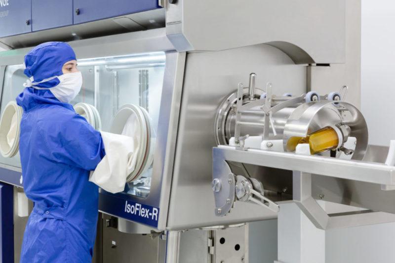 systèmes de transfert DPTE® pour des processus de production aseptique